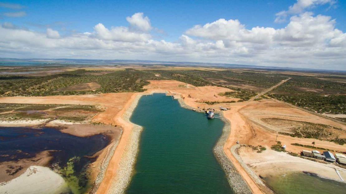 ICAM - Idea To Reach Fruition As Lucky Bay Port Becomes Reality image